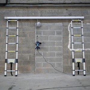 Wall grinding system